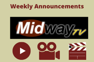 Watch Weekly Announcements