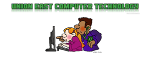 image of students looking at a computer