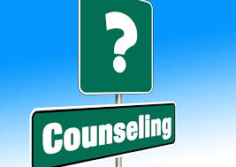 Counseling Street Sign