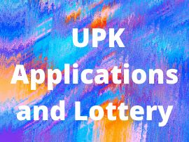 UPK Applications and Lottery