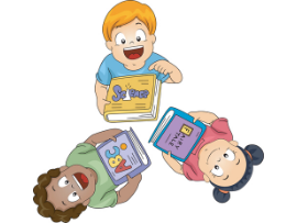 clipart of little children